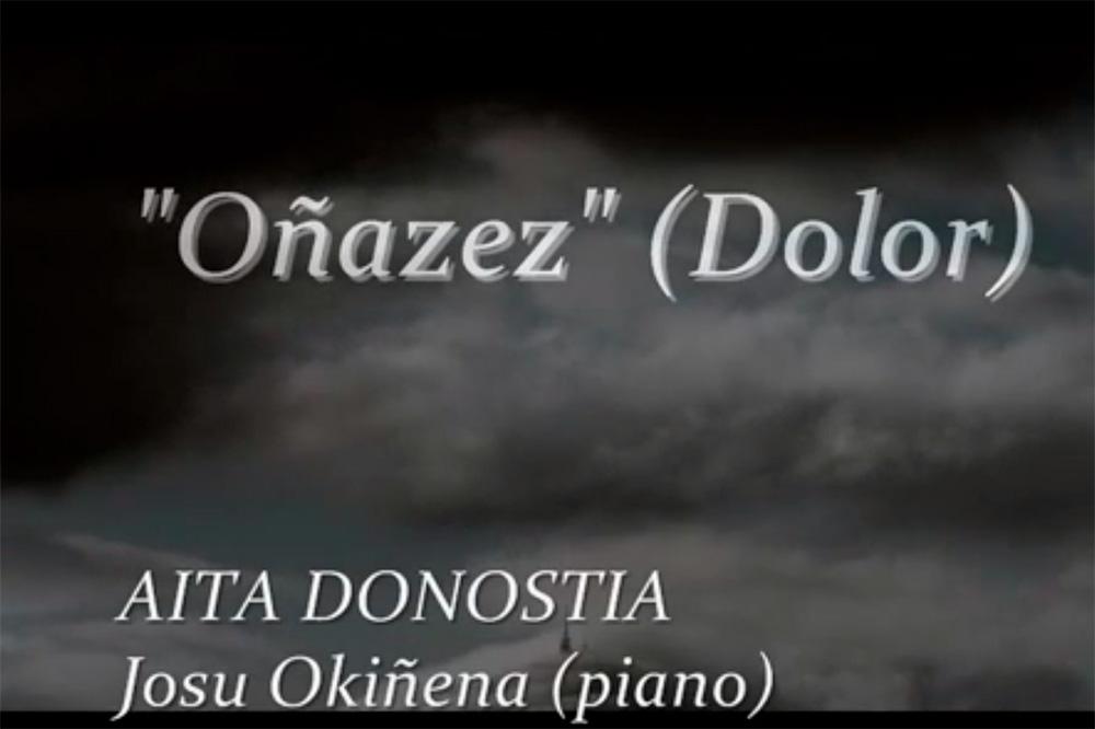 Aita Donostia- Oinazez- Josu okiñena
